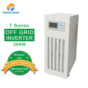 Three phase off grid 20kw solar inverter with IGBT