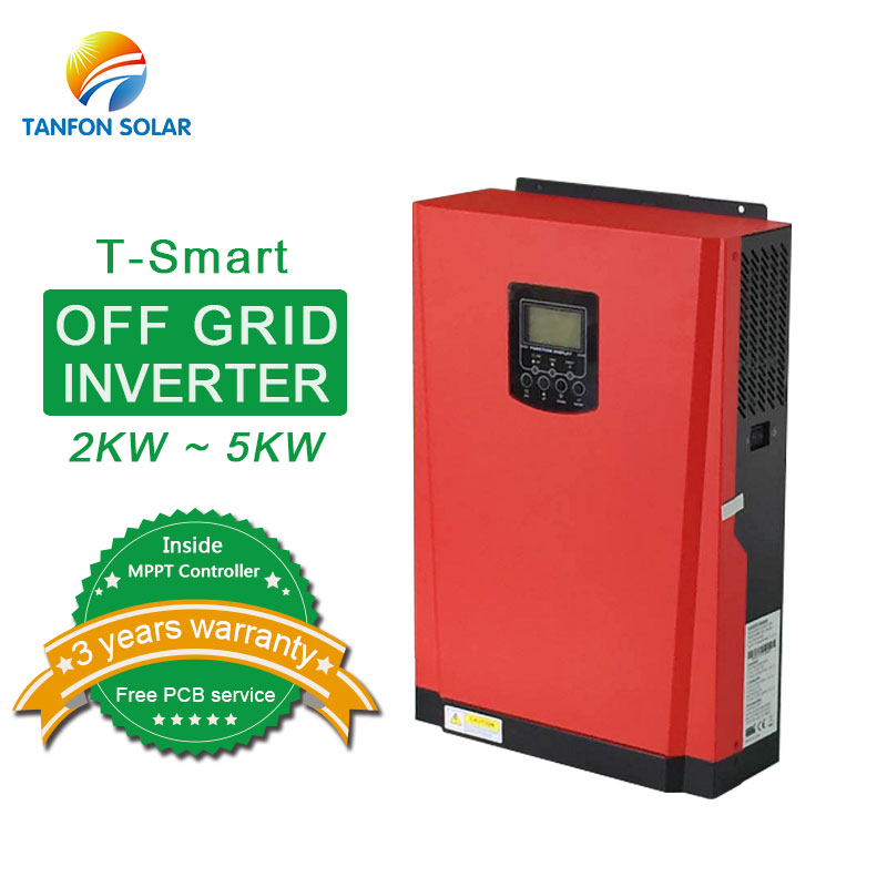 Off grid single phase 2kw 5kw solar inverter without battery