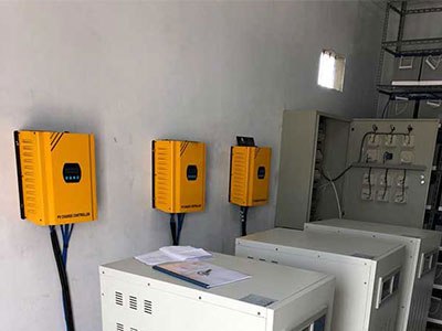 How to connect solar inverter and solar controller?