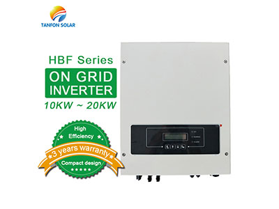 How does the on grid solar inverter work?
