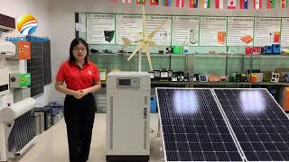 Tanfon 3 phase solar inverter introduction video