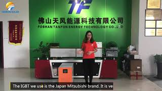 Tanfon single-phase IGBT inverter introduction video