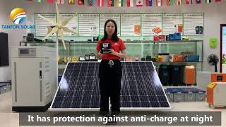 Tanfon solar charge controller introduction video