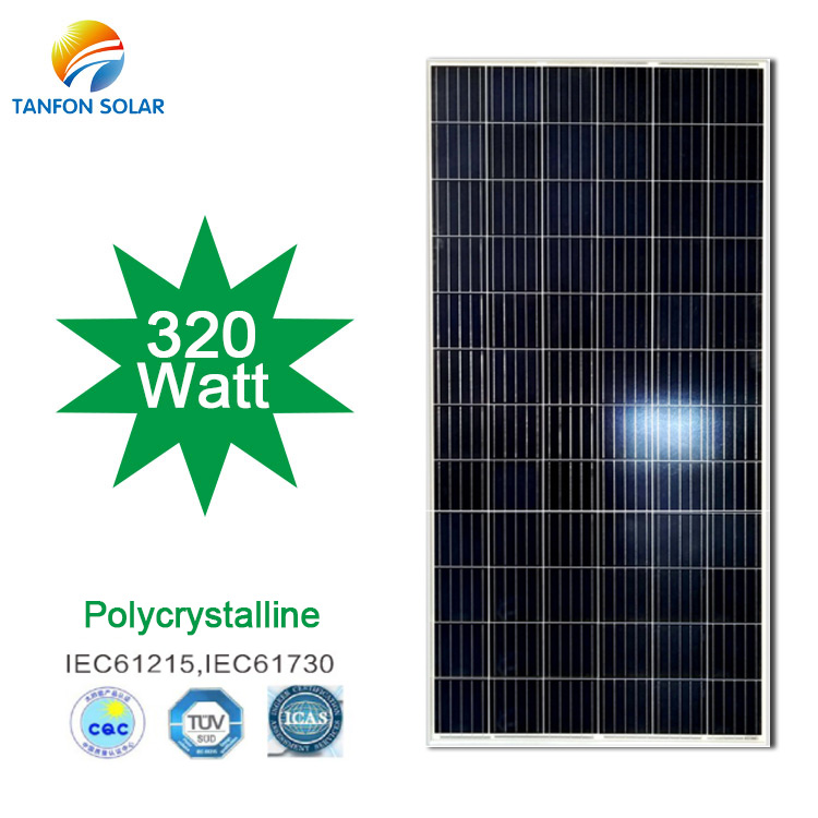 24V 320W Polycrystalline Solar Panel for Sale
