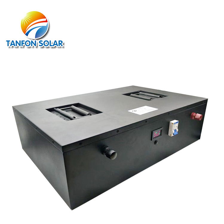 Home Rechargeable 100AH Battery Module Solar Energy Storage Lithium Battery