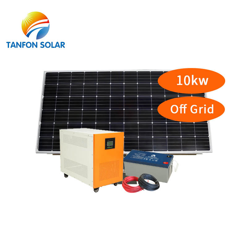 10kw PV Power off-Grid Solar Energy System with Kit Solar Panel