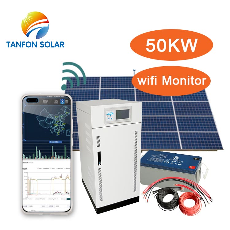 Factory Photovoltaic 50kw solar power system
