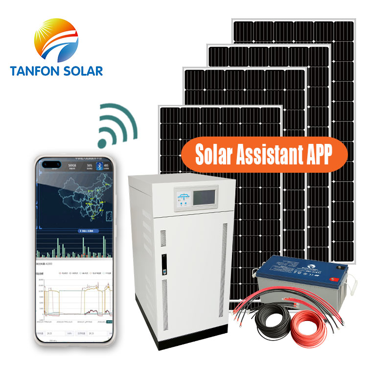 200KW real estate off grid solar power system