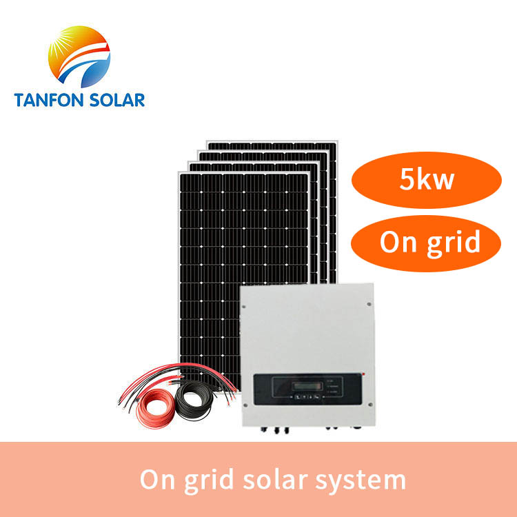 5kw Three 3 phase 415 volt 50 hz  ON Grid connected systems