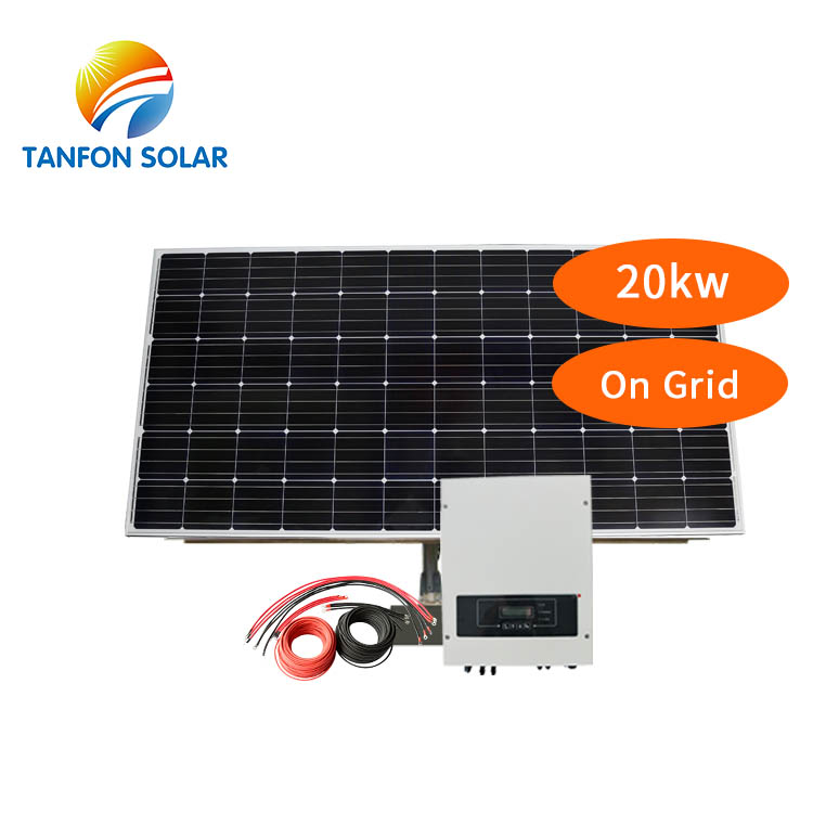 Wholesale Price Solar Generator 20KW On Grid Solar Panels For House