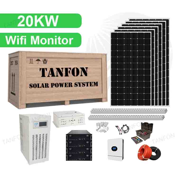 20KW 20000 Watt Solar Energy System Solution Supplier