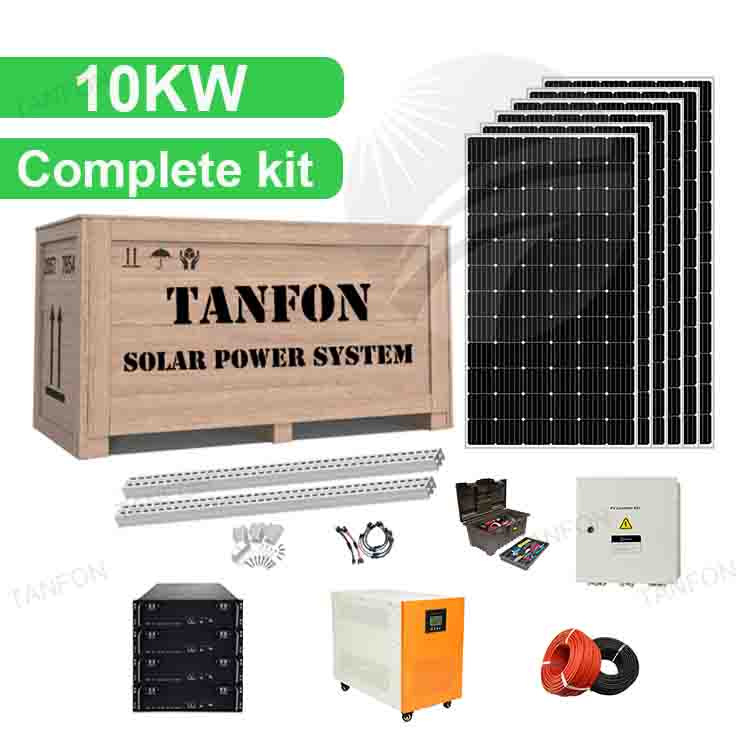 10KW 10000 Watt Off Grid Solar Power System
