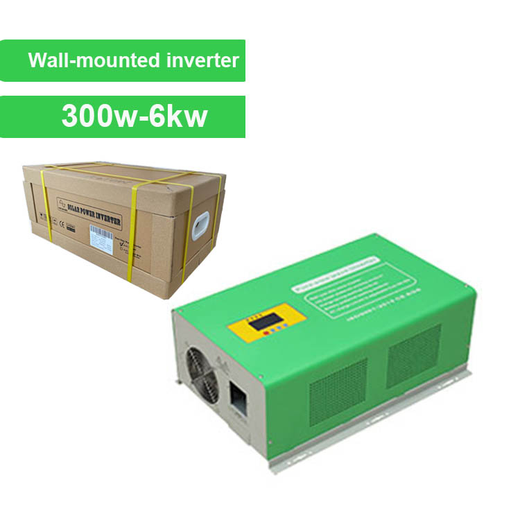 Wall-mounted Pure Sine Wave Solar Inverter 300w-6kw